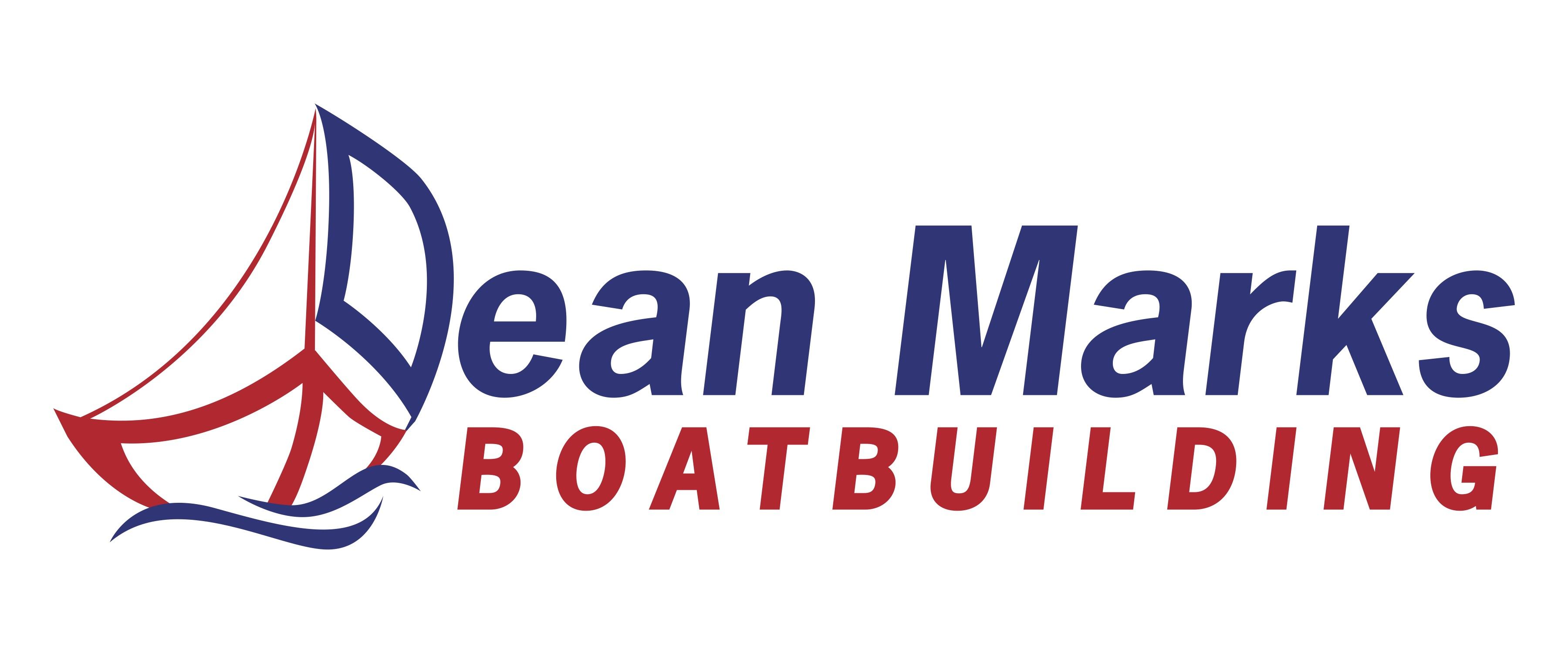 Dean Marks Boatbuilding Logo